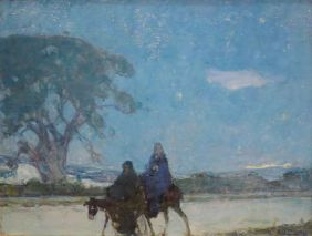 1579px-'Flight_into_Egypt'_by_Henry_Ossawa_Tanner,_Cincinnati_Art_Museum